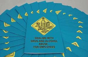 Safety Training: Dealing, Drug, Alcohol Abuse Employee Booklet, pack/15