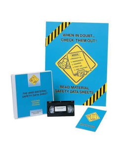 Safety Training: Dealing, Drug, Alcohol Abuse Manager Meeting Kit