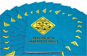 Safety Training: Dealing with Hazardous Spills Employee Booklet, pack/15
