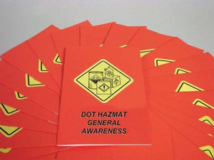 Safety Training: DOT HAZMAT General Awareness Employee Booklet, pack/15