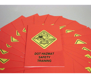 Safety Training: DOT HAZMAT Safety Training Employee Booklet, pack/15