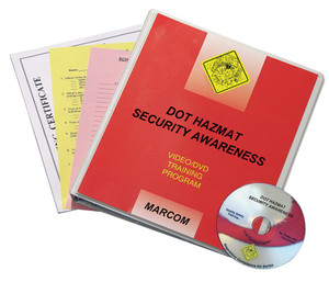 Safety Training: DOT HAZMAT Security Awareness DVD Program