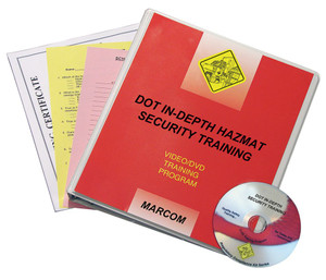 Safety Training: DOT In-Depth HAZMAT Security DVD Program