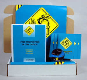 Safety Training: Fire Prevention in the Office Safety Meeting Kit