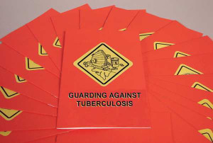 Safety Training: Guarding Against Tuberculosis Booklet, pack/15