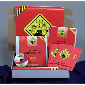 Safety Training: Hazard Communication in Cleaning & Maintenance Operations Compliance Kit