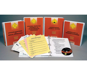 Safety Training: HAZWOPER 8 Hour Annual Retraining DVD Package