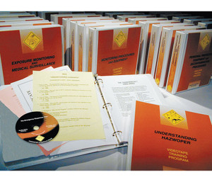 Safety Training: HAZWOPER Complete 40 Hour Training DVD Package