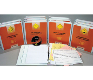 Safety Training: HAZWOPER Emergency Response: HAZMAT Technician DVD Package