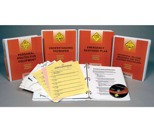 Safety Training: HAZWOPER Emergency Response: Operations DVD Package
