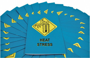 Safety Training: Heat Stress Employee Booklet, pack/15