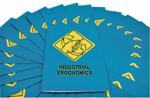 Safety Training: Industrial Ergonomics Employee Booklet, pack/15
