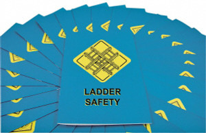 Safety Training: Ladder Safety Employee Booklet, pack/15