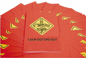 Safety Training: Lock-Out/Tag-Out Booklet, pack/15