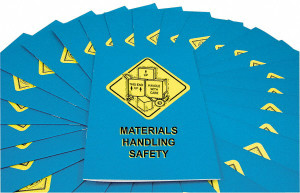 Safety Training: Materials Handling Safety Employee Booklet, pack/15