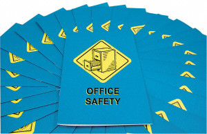 Safety Training: Office Safety Employee Booklet, pack/15