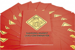 Safety Training: Guarding Against Lead Contamination (OSHA) Booklet, pack/15