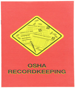 Safety Training: OSHA Record-keeping Booklet, pack/15