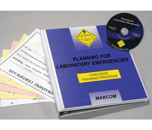 Safety Training: Planning for Laboratory Emergencies DVD Program