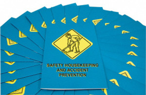 Safety Training: Safety Housekeeping & Accident Prevention Employee Booklet, pack/15
