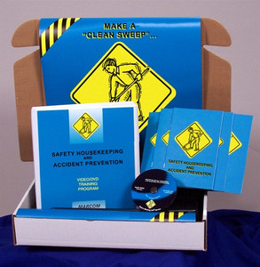 Safety Training: Safety Housekeeping & Accident Prevention Safety Meeting Kit