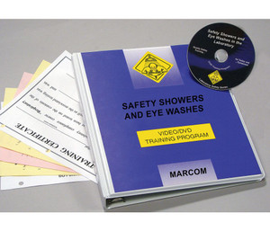 Safety Training: Safety Showers & Eye Washes DVD Program