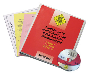Safety Training: Scissor Lifts in Industrial, Construction Compliance DVD Program