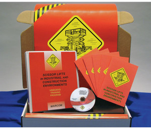 Safety Training: Scissor Lifts in Industrial, Construction Compliance Kit