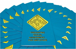 Safety Training: Sexual Harassment for Employees, Booklet, pack/15