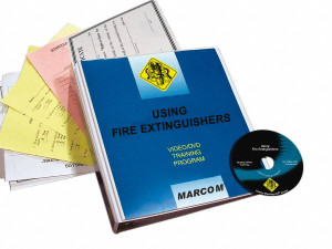Safety Training: Using Fire Extinguishers DVD Program