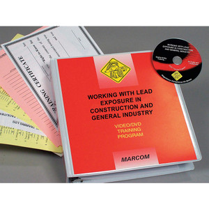 Safety Training: Working with Lead Exposure in General Industry DVD Program