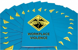 Safety Training: Workplace Violence Employee Booklet, pack/15