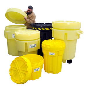 Overpack Plus Drum Containment, 20 gallon, Yellow