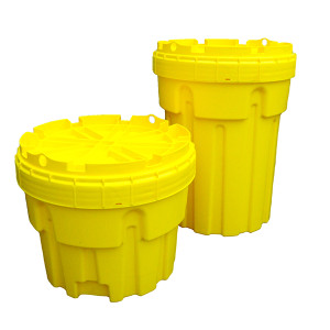 Overpack Plus Drum Containment, 30 gallon, Yellow