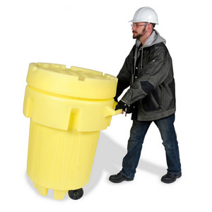 Overpack Plus Drum Containment, Wheeled, 95, Yellow