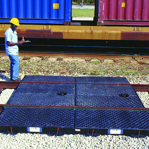 Train Track Containment Pans-9-Foot System