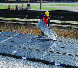 Train Track Containment Pans-Side Pan Cover