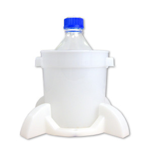Port Cap System, 2 Liter Media Bottle, GL-45 Cap, Secondary Container