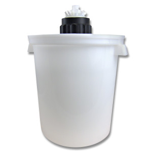 Port Cap System, 10L Carboy, 83B Port Cap, Secondary Container