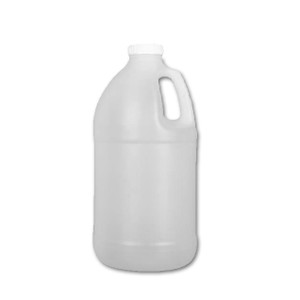 Certified Clean Lightweight Bleach Jugs, 2 liter, HDPE, case/6