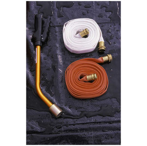 Decon Deck-Supply hose for Gross-Rinse Shower