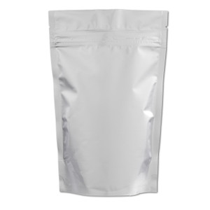 Resealable Heat-Seal Bags, 4 mil Stand Up Foil Zipper Bags, case/500