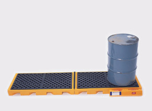 Spill Deck, In-line 4-Drum Model