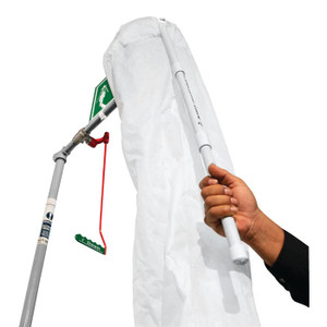 Justrite® Hughes Safety Shower Test Kit With Bucket And Shower Sock