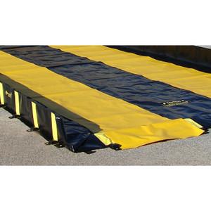 Justrite® Track Runner, 3'W x  10'L, Yellow