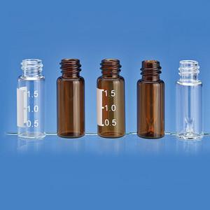 0.3ml Amber Sealed in Insert 9mm, Screw Top, 12x32, case/100
