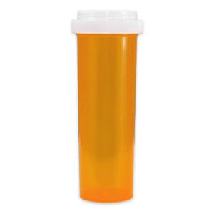 Economy Pharmacy Vials, Amber, Reversible CR, 60 dram (222mL), case/90