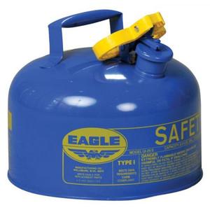 Eagle® 2.5 Gallon Steel Safety Can For Kerosene, Type I, Flame Arrester, Blue