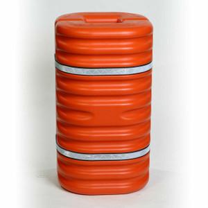 "Eagle® 9"" Column Protector, with Reflective Straps, Orange"
