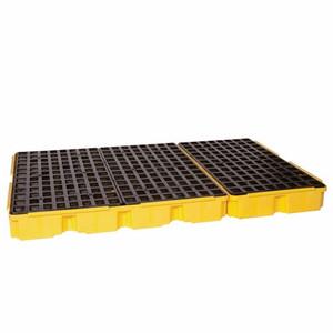 Eagle® 6 Drum Low Profile Spill Platform, With Drain